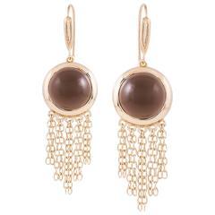 Mateo/Brown Smoky  Quartz Earrings