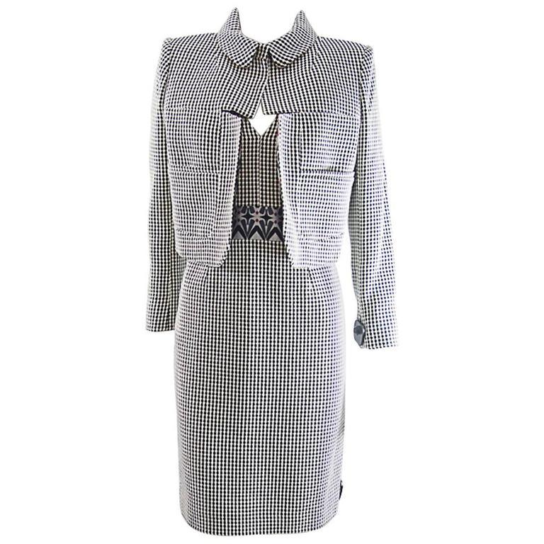 Christian Lacroix  short jacket and Dress ensemble sz 42 For Sale