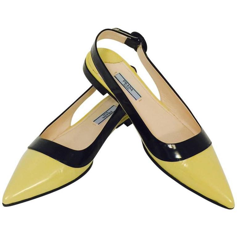 Prada Round Toe Shoes