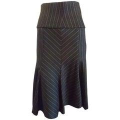 M Missoni Wool Skirt and Cummerbund (S)
