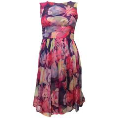 Chanel Multi-Color Silk Dress size 34 (2)