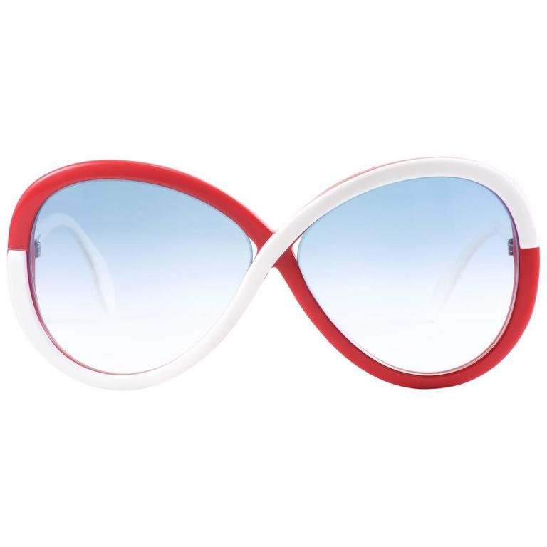 Hotel de Ville, Vintage Pop Art  Infinity Silhouette Sunglasses Austria 1