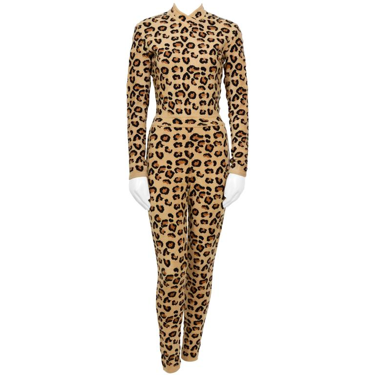 ALAIA Iconic Fall/Winter 1991-1992 Collection Leopard Set ...