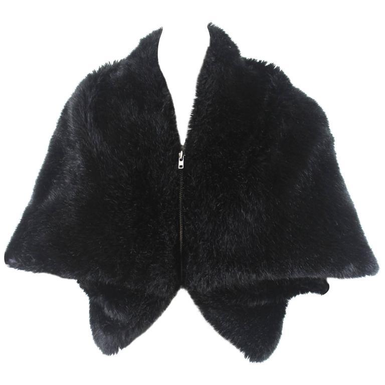 Comme des Garcons Tricot AD 2004 Faux Fur Jacket
