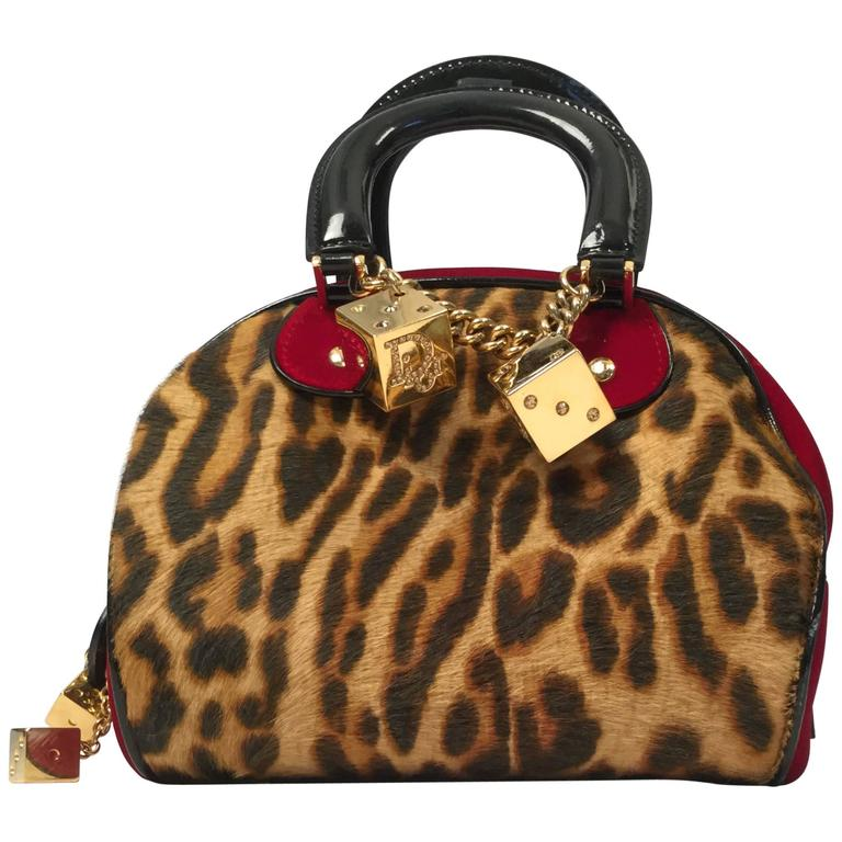 "Christian Dior Pony Hair ""Gambler"" Handbag, 2004  1"