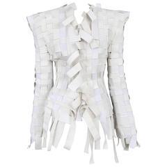 Martin Margiela Couture Elastic Weave Jacket 2008