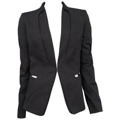 Martin Margiela Black Removable Collar Blazer
