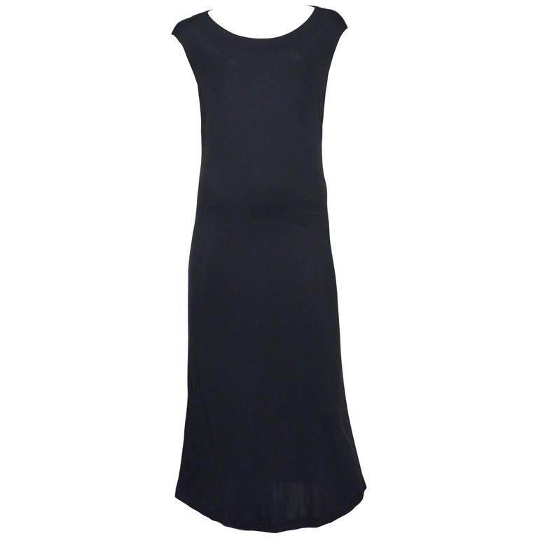 Martin Margiela Black Sleeveless Dress