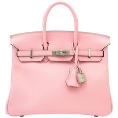 Very RARE & Brand New Hermès Birkin Rose Sakura 25