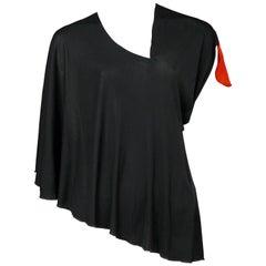 Maison Martin Margiela Black & Red Target Sleeve Top 2007