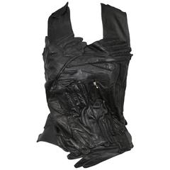 Martin Margiela Black Glove Top 2001