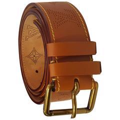Louis Vuitton unworn leather belt