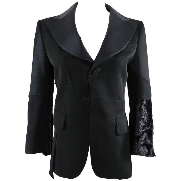Junya Watanabe Comme Des Garcons Fall 2014 Patchwork Jacket 1