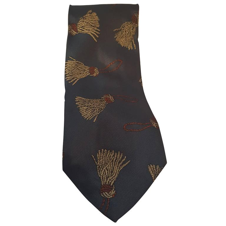 moschino vintage tie at 1stdibs