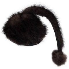 30s Mink Hattie Carnegie Hat
