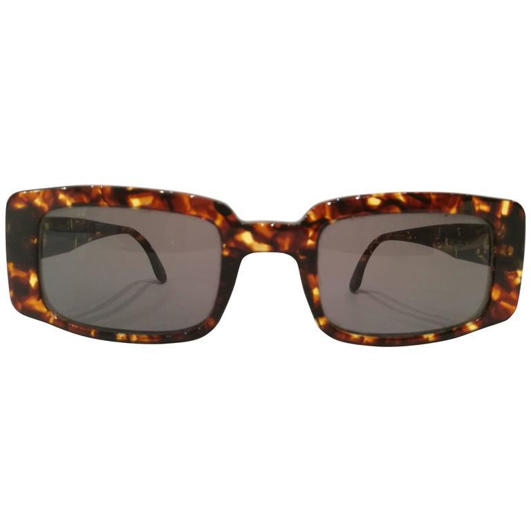 1980s Iceberg tortoise sunglasses unworn