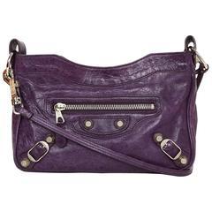 Balenciaga Purple Giant 12 Classic Hip Crossbody Bag