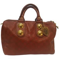 Gucci Red Babouska Boston Bag