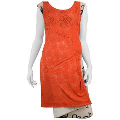 Comme des Garcons Padded Lace Dress 1996