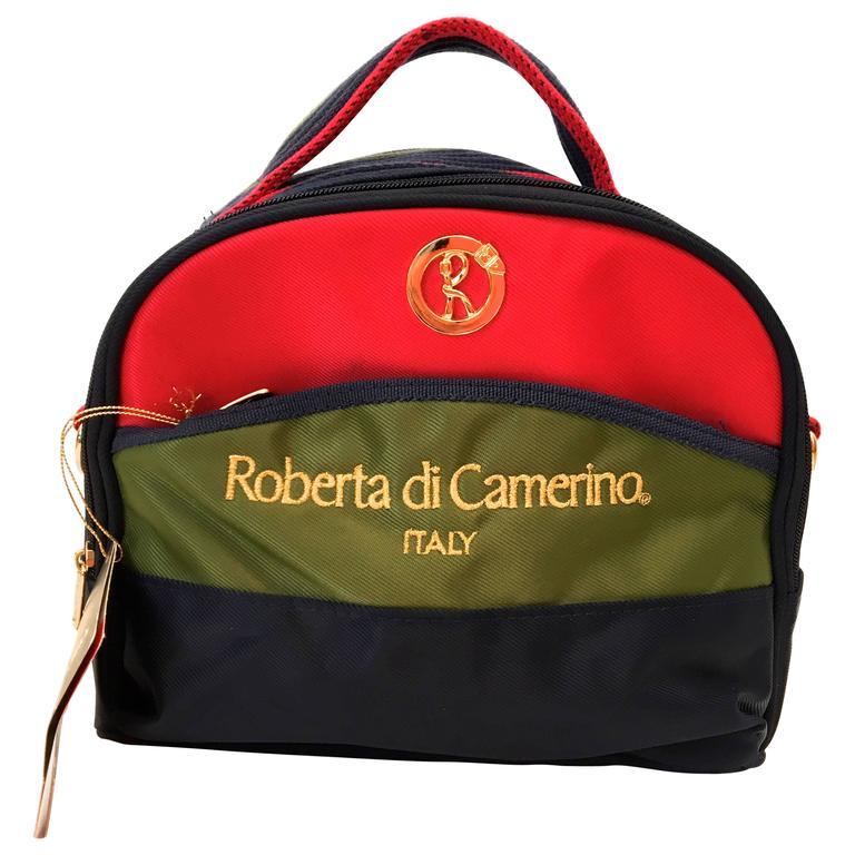 Roberta di Camerino Nylon Shoulder Bag