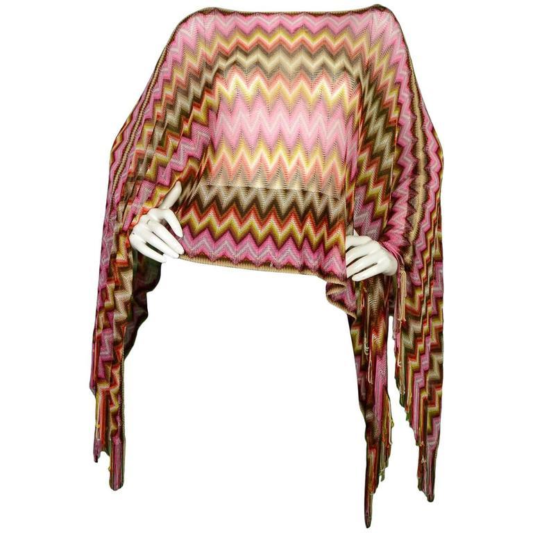 Missoni Multi-Color Knit Shawl 1