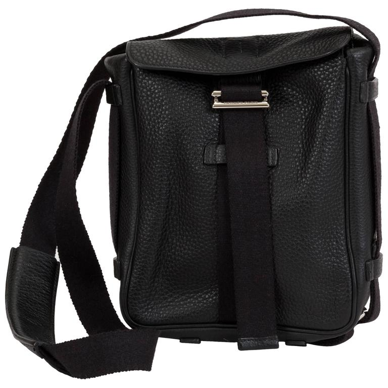 Hermès Black Clemence Men's Shoulder Bag 1