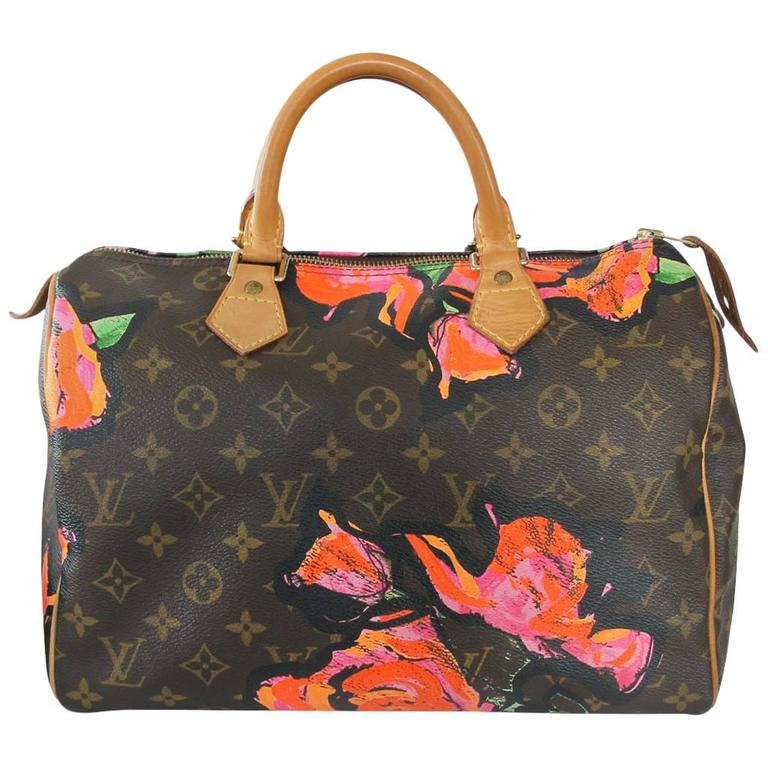 45dbb9706514 Louis Vuitton Stephen Sprouse Speedy 30 Roses in Box at 1stdibs