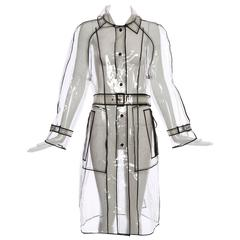 Prada Transparent PVC Rain Coat, Autumn / Winter 2002 - 2003
