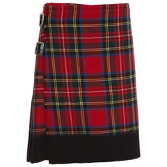 Comme des Garcons by  Locharron Tartan Heavy Weight Kilt, Fall 2008