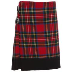Comme des Garcons Locharron Tartan Heavy Weight Kilt, Autumn - Winter 2008