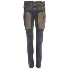 Nicolas Ghesquière For Balenciaga Runway Leather Moto Pants, Spring 2010
