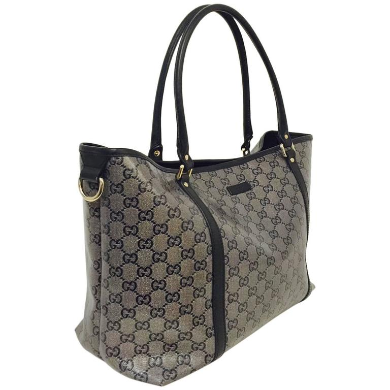 fa766301410 Gucci Crystal Coated Joy Tote Medium Excellent Condition! at 1stdibs
