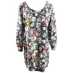 Moschino Couture Soda Can Print Dress