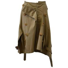 Junya Watanabe Deconstructed Trench Coat Skirt