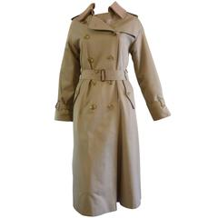 1980s Burberrys' Long Heritage Trench Coat 6/8
