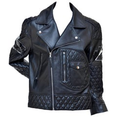 Giles Motorcycle Embellished Leather Jacket