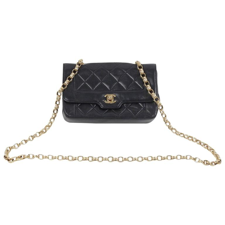 10201657ae3b Vintage Small Crossbody Chanel Black Purse | Stanford Center for ...