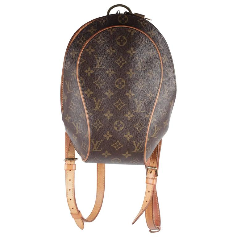 b848b765e2e5 Louis Vuitton Monogram Canvas Ellipse Backpack Shoulder Bag At 1stdibs