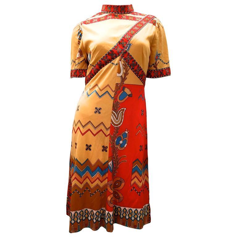 Vintage Paganne Dress - 1970's