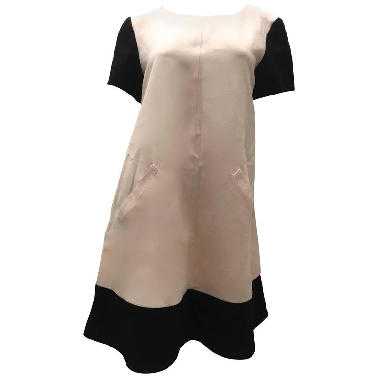 Courreges Black and White Dress