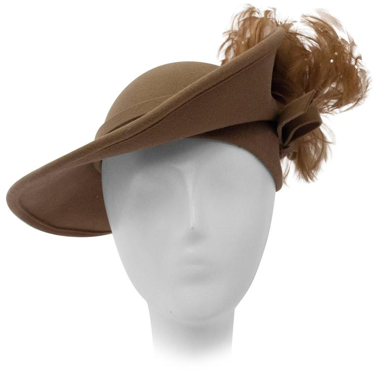 80s Jack McConnell Taupe Hat
