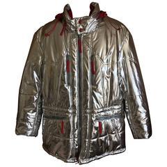 Issey Miyake Men Rare Vintage Silver Jacket