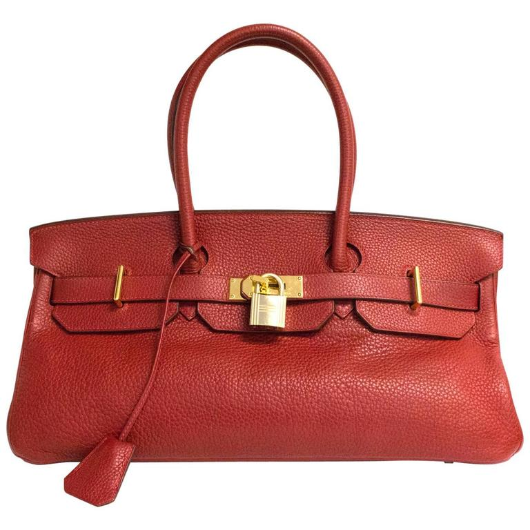 Hermes Shoulder Birkin - Rare For Sale