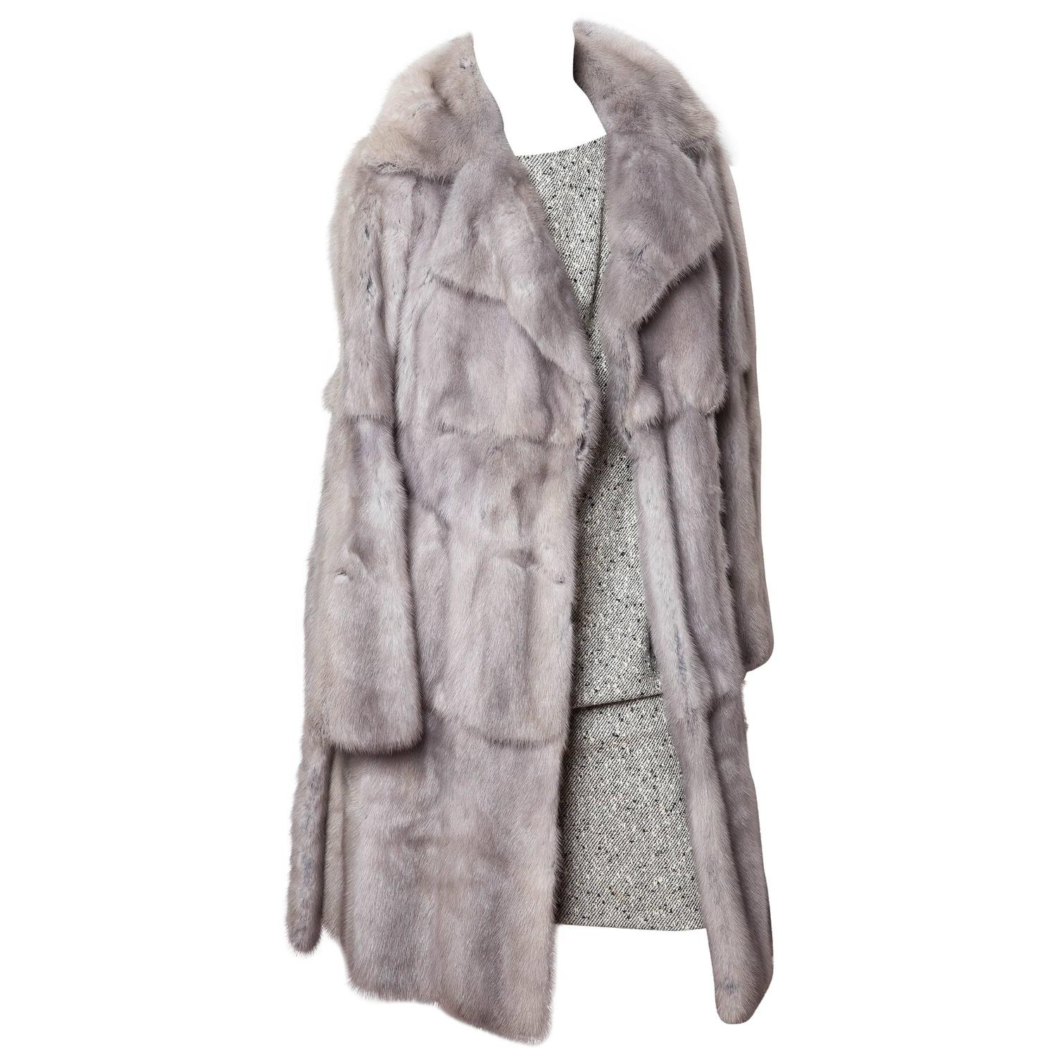 Fendi RARE Vintage Russian Ermine Fur Coat at I.Magnin at 1stdibs