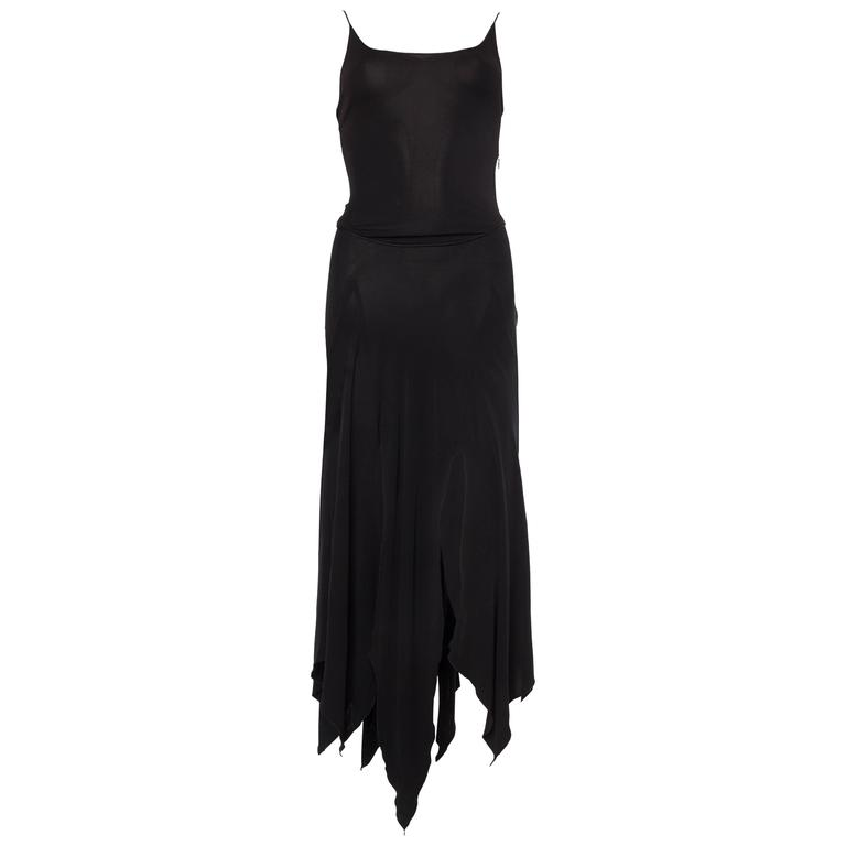 Givenchy Spandex Dancer Style Dress with High Slits For Sale