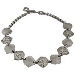 Yves Saint Laurent Steel necklace