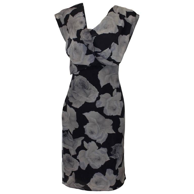 Lanvin Floral Sheath Dress