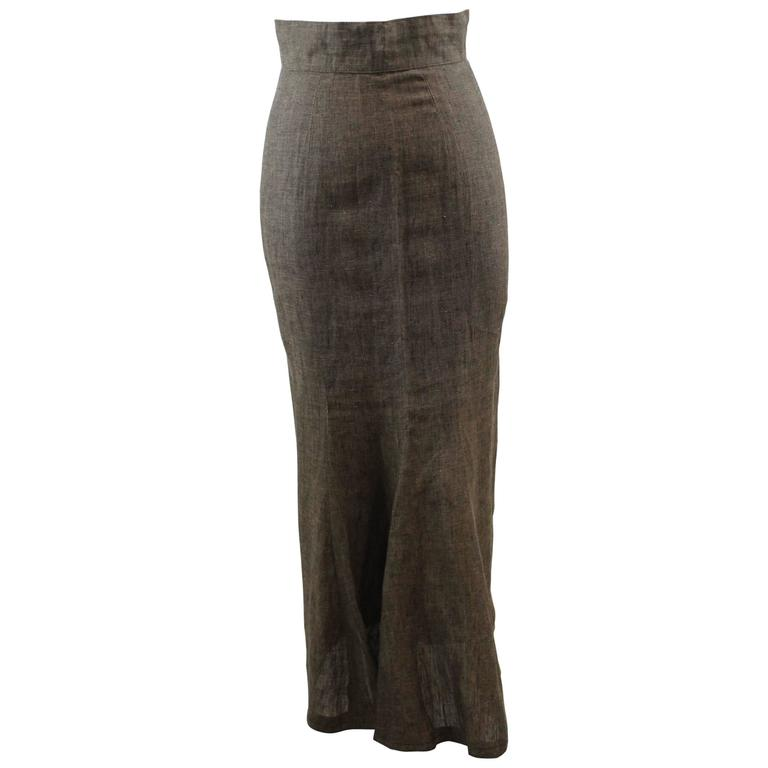 Paco Rabanne Vintage Skirt Size S 1