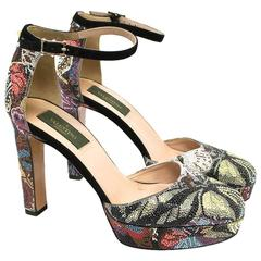 Valentino 'Camu Butterfly' Pumps With Swarovski Crystals