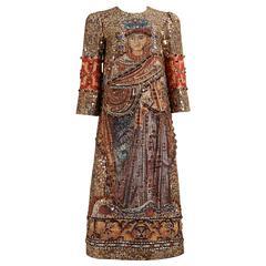 Dolce & Gabbana mosaic embellished shift dress, circa 2013